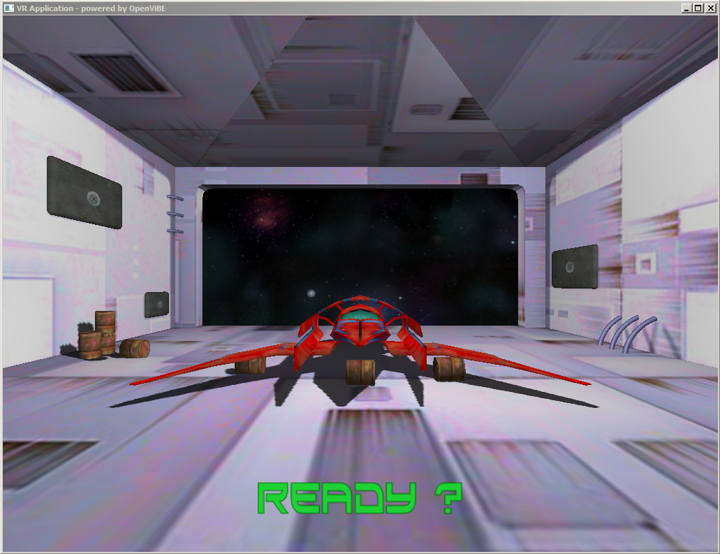 Motor Imagery / Neurofeedback: Lift the Spaceship demo   OpenViBE