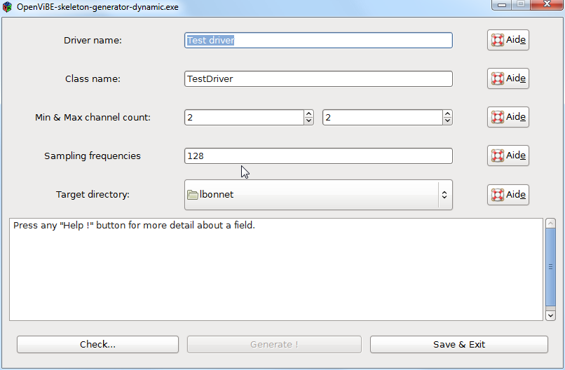 Skeleton-Generator (beta)   OpenViBE